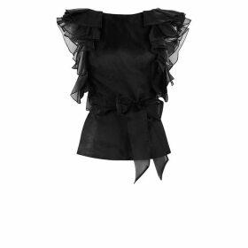 Warehouse Sequin Mini Skirt