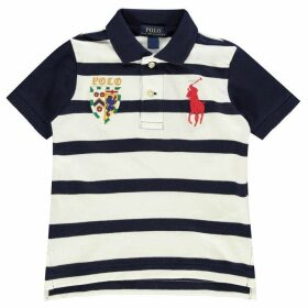 Polo Ralph Lauren Polo Boy's Big Performance Polo Stripe