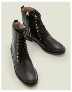 Ampton Ankle Boots Black Women Boden, Black