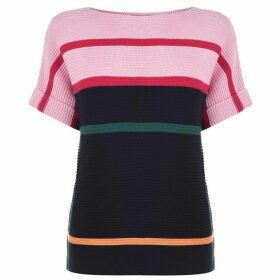 Paul Smith PS SS Stripe Knit Ld93