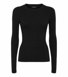 Tall Black Slim Fit Jumper New Look