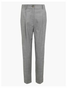 M&S Collection Tapered Ankle Grazer Trousers