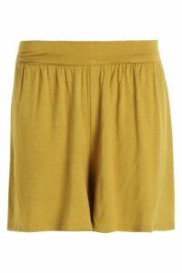 Womens Basic Flippy Shorts - Green - 10, Green