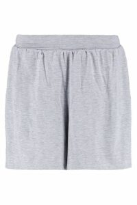 Womens Basic Flippy Shorts - Grey - 16, Grey