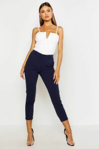 Womens Tailored Tapered Trouser - Navy - 8, Navy