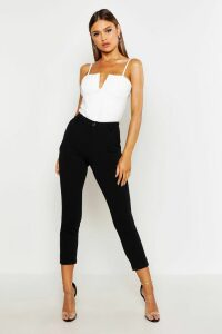 Womens Tailored Tapered Trouser - Black - 10, Black