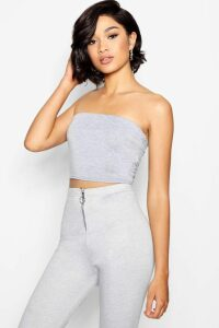 Womens Tall Jersey Bandeau - Grey - 16, Grey