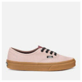 Vans Women's Authentic Gum Trainers - Shadow Grey/Prune - UK 8