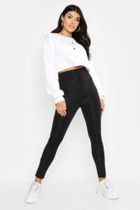 Womens Waist Shaping Leggings - Black - 14, Black