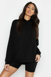 Womens Oversized Hoodie - Black - Xl, Black