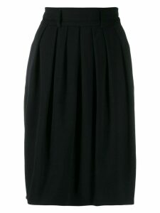Jil Sander Pre-Owned '1990s pleated skirt - Black