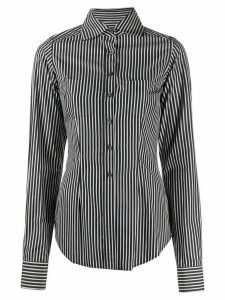 Romeo Gigli Pre-Owned 1997 fitted striped shirt - White