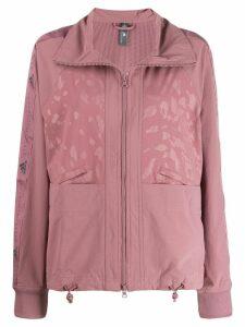 adidas by Stella McCartney zip-up training jacket - PINK