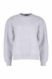 Womens Oversized Sweatshirt - Grey - 14, Grey
