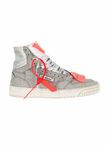 Off White Off Court Glitter Sneakers