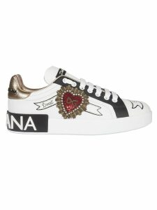 Dolce & Gabbana Dg Logo Detail Laced-up Sneakers