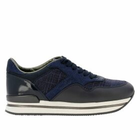 Hogan Sneakers Hogan Sneakers In Leather And Lurex Fabric With Sole 222