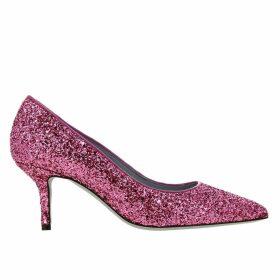 Chiara Ferragni Pumps Chiara Ferragni Pumps In Glitter Fabric