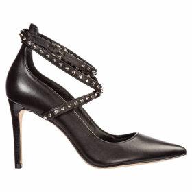 Michael Kors Leather Pumps Court Shoes High Heel Jeannie