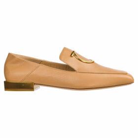 Salvatore Ferragamo Leather Loafers Moccasins Lana