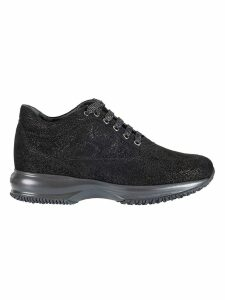 Hogan Glitter Effect Sneakers