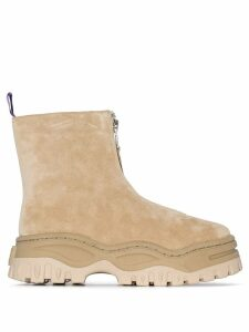 Eytys Raven zip-up ankle boots - Neutrals