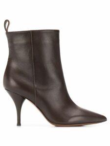 L'Autre Chose stiletto ankle boots - Brown
