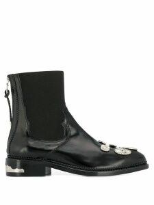 Toga Pulla chelsea boots - Black