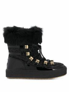 Chiara Ferragni Flirting ankle snow boots - Black