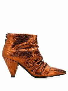 Marc Ellis Dehli Terra Goha boots - Metallic