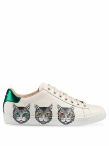 Gucci Ace cat sneakers - White