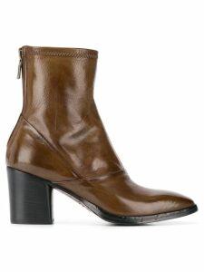 Alberto Fasciani Ursula ankle boots - Brown
