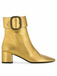 Saint Laurent Joplin 50 boots - GOLD