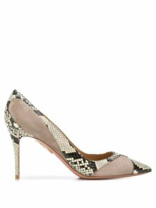 Aquazzura Satine 10 pumps - NEUTRALS
