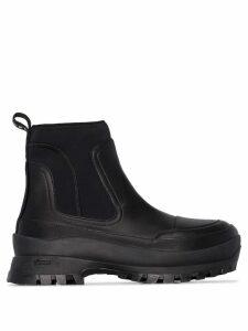 Stella McCartney neoprene ankle boots - Black
