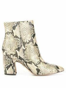 Sam Edelman Hilty snake-print boots - Multicolour