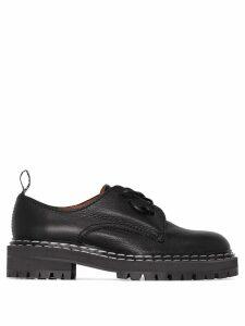 Proenza Schouler leather Oxford shoes - Black
