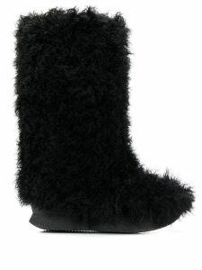 Dorothee Schumacher Arctic Luxe boots - Black
