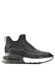 Ash Krystal pull-on sneakers - Black