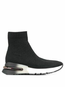 Ash sock style hi-top sneakers - Black