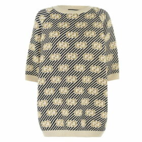 Gucci Gg Wool Jacquard Top