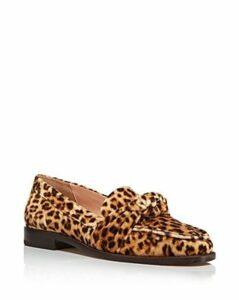 Loeffler Randall Women's Elina Velvet Slip-On Loafers