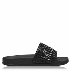 Moschino Glitter Sliders