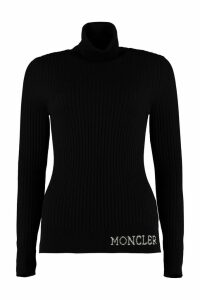 Moncler Ribbed Turtleneck Sweater