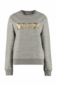 Golden Goose Aiako Logo Detail Cotton Sweatshirt