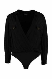 Elisabetta Franchi Celyn B. Crêpe Body Shirt