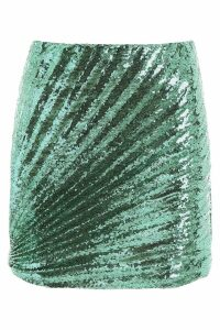 Marco de Vincenzo Sequins Mini Skirt