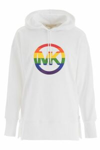 MICHAEL Michael Kors Rainbow Logo Hoodie
