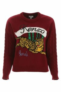 Kenzo Bamboo Tiger Pullover