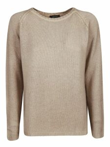 Avant Toi Boat Neck Off Gauge Sweater